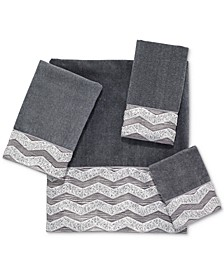 Galaxy Chevron Bath Towel Collection