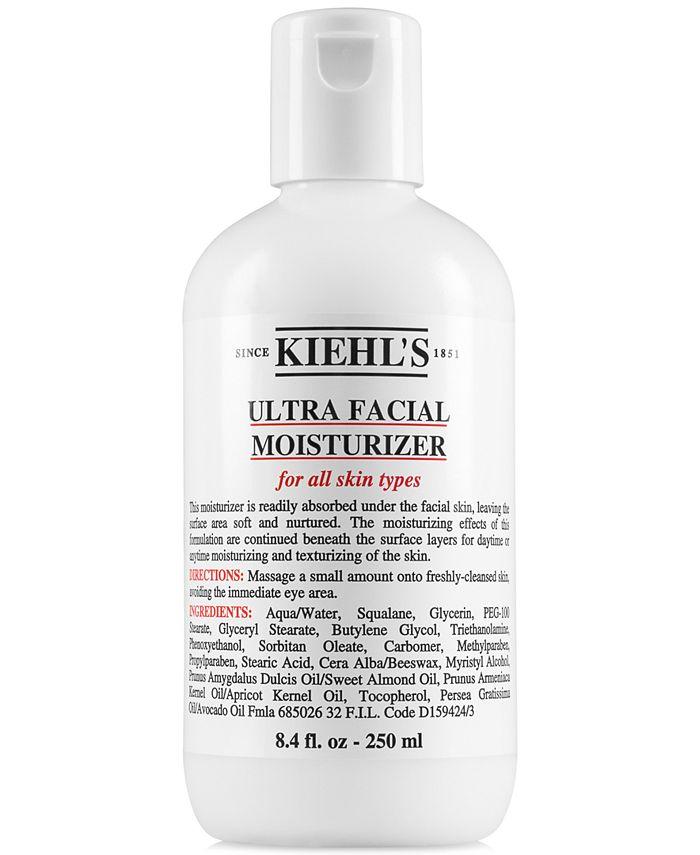 Kiehl's Since 1851 - Ultra Facial Moisturizer, 8.4-oz.