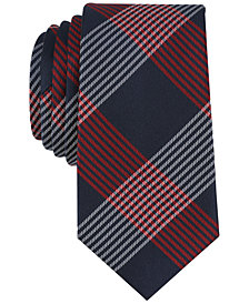 Nautica Men's Kathaleen Check Silk Tie