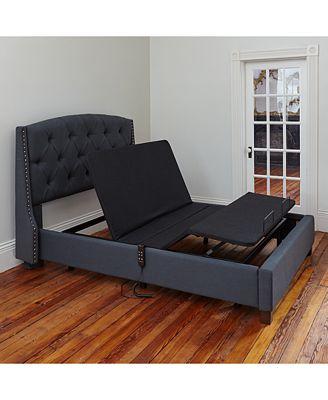 sleep trends adjustable bed base - mattresses - macy's
