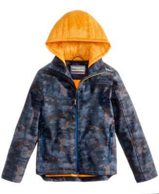 quality design 62ab8 643ff Hawke   Co. Outfitter Jonny Hooded Soft-Shell Jacket, Big Boys (8-20) -  Coats   Jackets - Kids   Baby - Macy s