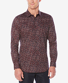 Perry Ellis Men's Classic-Fit Printed Shirt