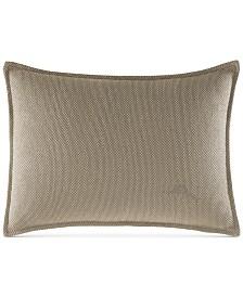"CLOSEOUT! Tommy Bahama Home Raffia Palms 12"" x 16"" Decorative Pillow"