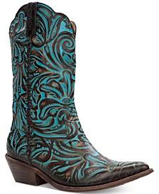 Patricia Nash Bergamo Western Mid-Shaft Boots