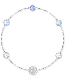 Swarovski Remix Collection Halo Crystal & Fireball Link Bracelet