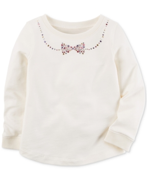 Carters Bow Cotton Top Toddler Girls (2T5T)