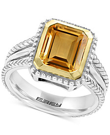 EFFY® Citrine Ring (2-9/10 ct. t.w.) in Sterling Silver