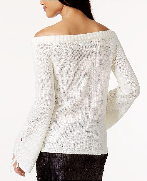 Minkpink Antoinette Off The Shoulder Knit Top Tops Women Macys