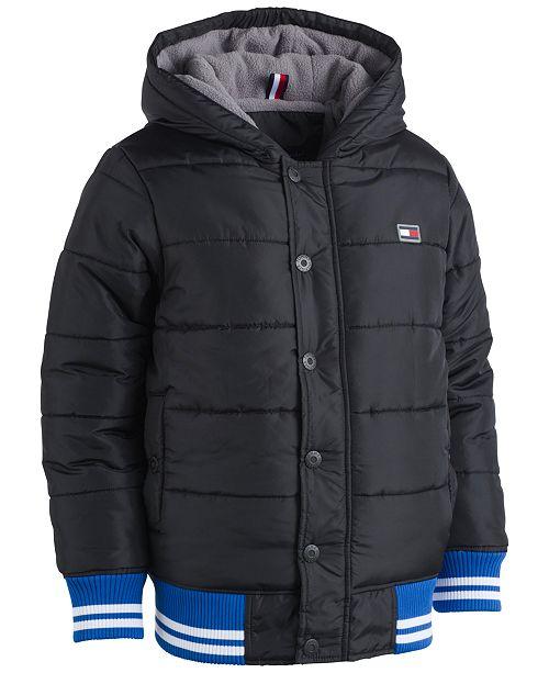 Tommy Hilfiger Kramer Hooded Puffer Coat, Toddler Boys