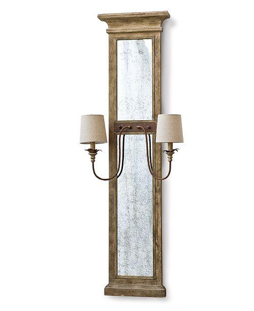 Regina Andrew Design Regina Andrew Provence Mirror Panel Sconce
