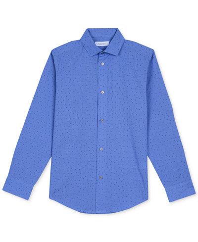 Calvin Klein Print Shirt, Big Boys