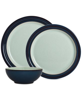 Denby Peveril 12-Pc. Dinnerware Set Service for 4  sc 1 st  Macy\u0027s : denby dinnerware set - pezcame.com