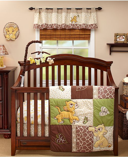 Disney Lion King Go Wild Baby Bedroom Collection & Reviews - Bedding ...