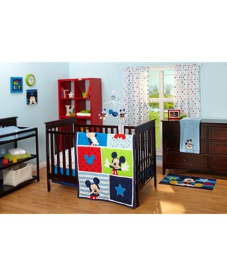 Image 2 Of Disney Mickey Mouse Baby Bedroom Collection