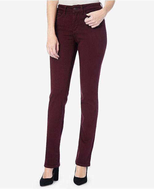 330c04d8f63 NYDJ Marilyn Tummy-Control Straight-Leg Jeans   Reviews - Jeans ...