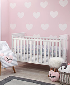 Little Love by NoJo Hugs & Kisses 5-Pc. Crib Bedding Set