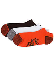 '47 Brand Cleveland Browns 3pack Blade Motion No Show Socks