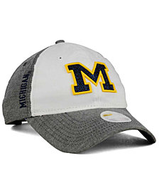 New Era Women's Michigan Wolverines Sparkle Shade 9TWENTY Cap
