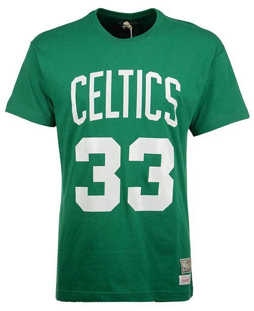 best service 1787f 7d70e Men's Larry Bird Boston Celtics Hardwood Classic Player T-Shirt