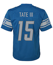 Nike Golden Tate Detroit Lions Game Jersey, Big Boys (8-20)