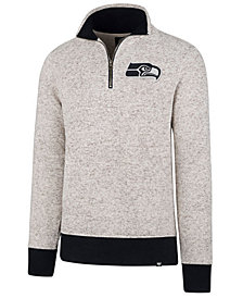 '47 Brand Men's Seattle Seahawks Kodiak Quarter-Zip Pullover