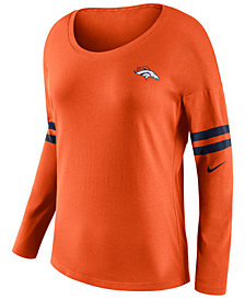 Nike Women's Denver Broncos Tailgate Long Sleeve Top