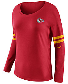 Nike Women's Kansas City Chiefs Tailgate Long Sleeve Top
