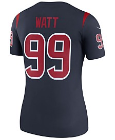 Nike Women's J. J. Watt Houston Texans Color Rush Legend Jersey