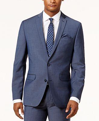 blue suit jacket mens suit la