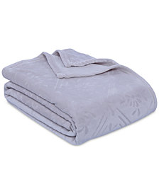 Berkshire VelvetLoft Airblown Diamond Plush Twin Blanket