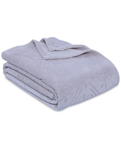 Berkshire VelvetLoft Airblown Diamond Plush King Blanket