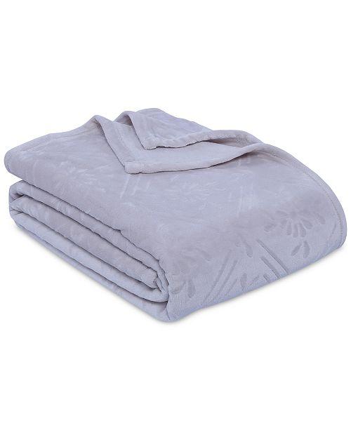 Berkshire VelvetLoft Airblown Diamond Plush Blanket