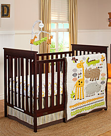 NoJo Zoobilee 4-Pc. Crib Bedding Set