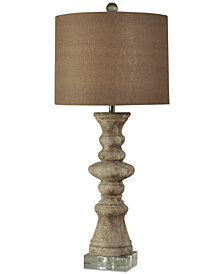 Harp & Finial Albany Table Lamp
