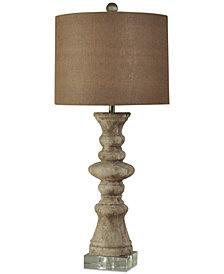 Harp & Finial Albany Table Lamp