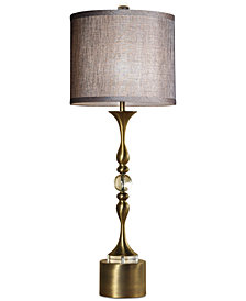 Harp & Finial Tanga Table Lamp