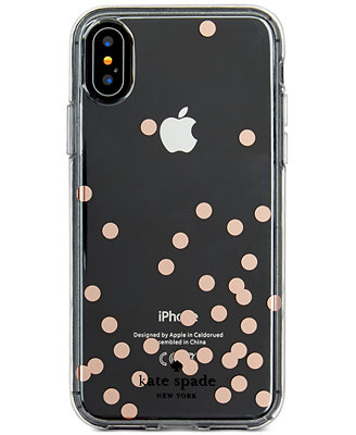kate spade iphone case kate spade new york confetti foil iphone x handbags 2158