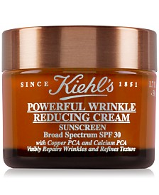 Kiehl's Since 1851 Powerful Wrinkle Reducing Cream Sunscreen SPF 30, 1.7-oz.
