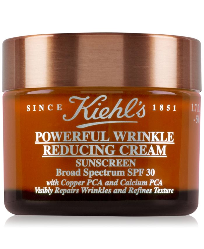 Kiehl's Since 1851 Powerful Wrinkle Reducing Cream Sunscreen SPF 30, 1.7-oz. & Reviews - Skin Care - Beauty - Macy's