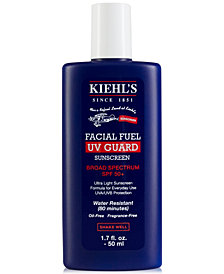Kiehl's Since 1851 Facial Fuel UV Guard Sunscreen SPF 50, 1.7-oz.