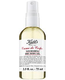 Creme de Corps Nourishing Dry Body Oil, 2.5-oz.