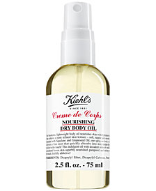 Kiehl's Since 1851 Creme de Corps Nourishing Dry Body Oil, 2.5-oz.