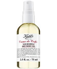 Kiehl's Since 1851 Creme de Corps Nourishing Dry Body Oil, 2.5-oz.