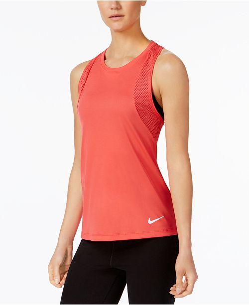 5ad13605d828 Nike Dry Miler Racerback Tank Top   Reviews - Tops - Women - Macy s