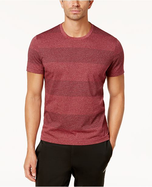 5047d1537b6f ... Alfani Men's Slim-Fit Wide-Striped T-Shirt, Created for Macy's ...