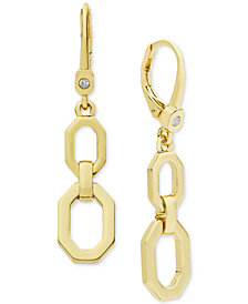Ivanka Trump Large Link Drop Earrings