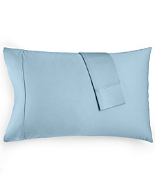CLOSEOUT! AQ Textiles Devon Standard Pillowcase Pair, 900 Thread Count, Created for Macy's