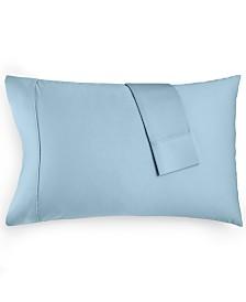 CLOSEOUT! AQ Textiles Devon Standard Pillowcase Pair, 900 Thread Count, Created for Macy's