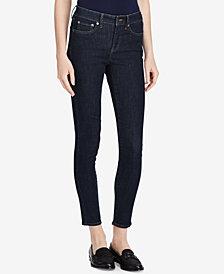Lauren Ralph Lauren Ultimate Slimming Premier Cropped Skinny Jeans