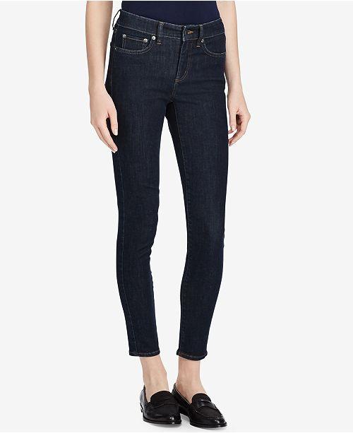 06aecc0a05 Lauren Ralph Lauren Ultimate Slimming Premier Cropped Skinny Jeans ...